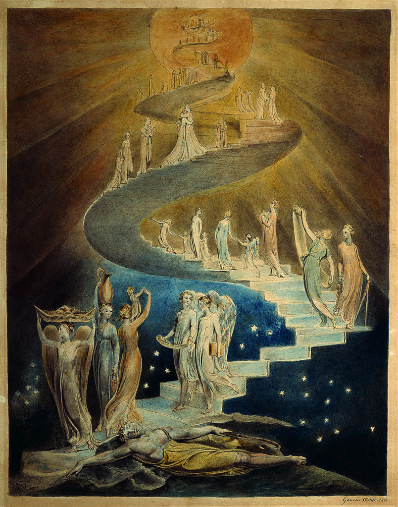 William Blake's Jacob's Ladder