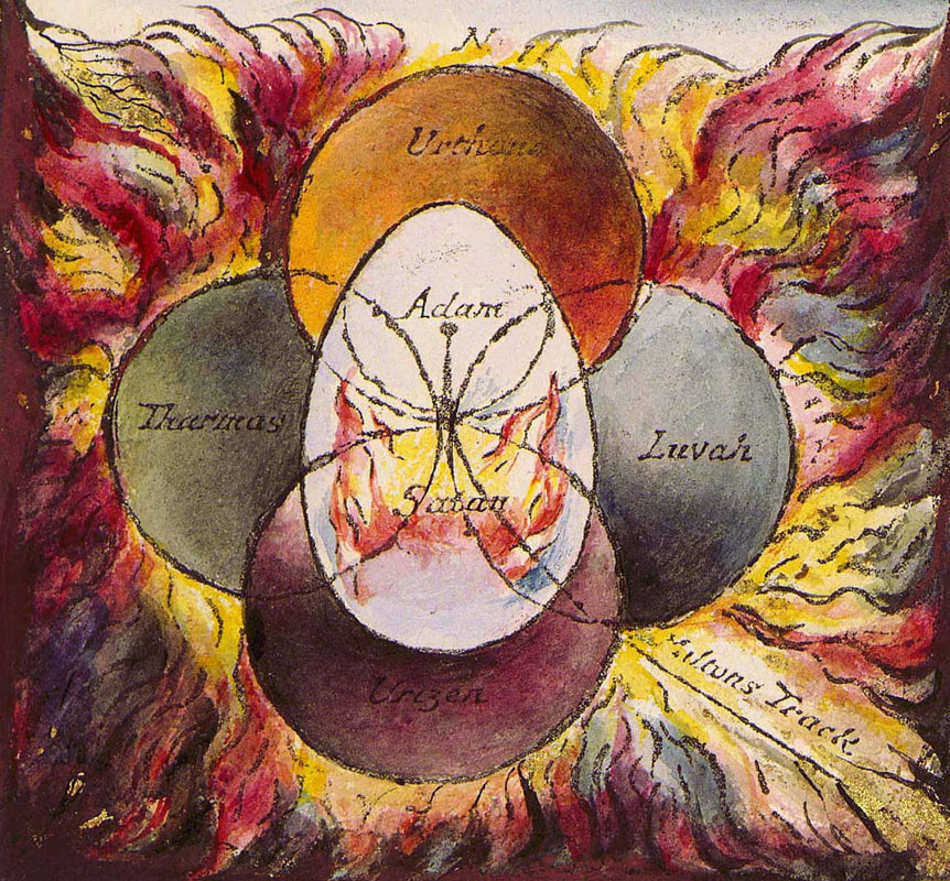 William Blake's The Four Zoas